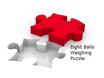 8 Balls Weight Puzzle