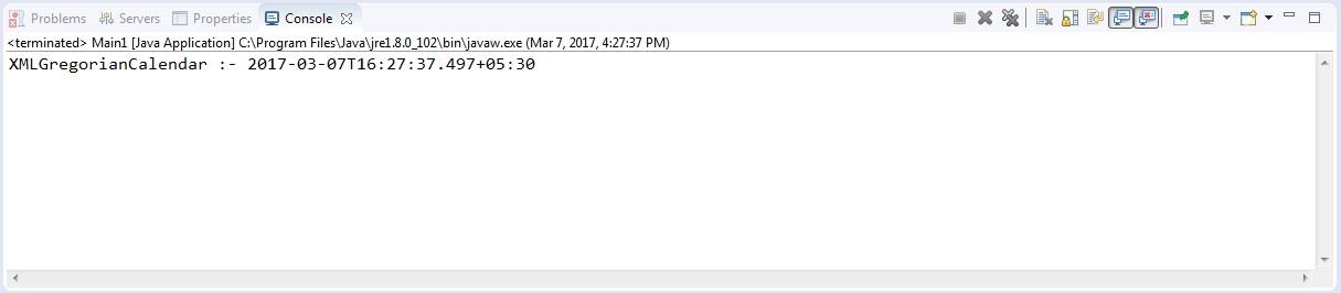 Date to XMLGregorianCalendar